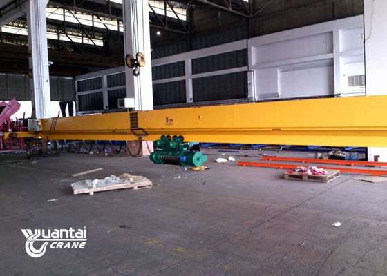 Electric Hoist Single Girder Overhead Crane 2 Ton 5 Ton 10 Ton Easy To Use