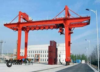 Safety Container Gantry Crane , Rail Mounted Gantry Crane Low Energy Consumption