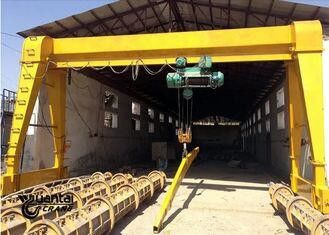 Durable 30 Ton Gantry Crane , MH Type Single Beam Gantry Crane Electric Hoist